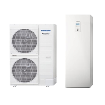 Panasonic luft/vand Varmepumpe All in one H-Generation
