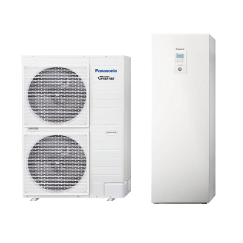Panasonic Aquarea All in One T-Cap 9 kW luft/vand Varmepumpe