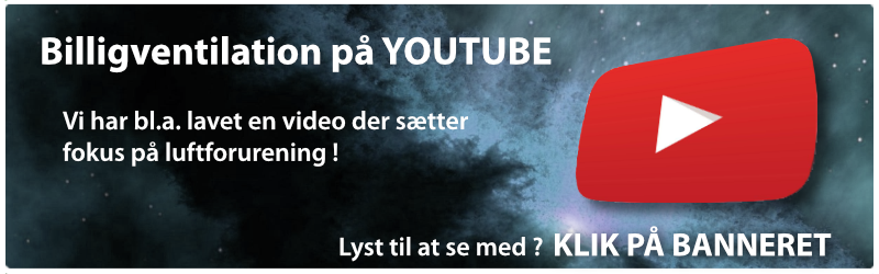 Billigventilation på YOUTUBE