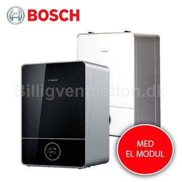 Bosch Compress 7000I AWE EL indedel i sort/hvid design