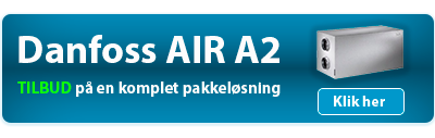 Danfoss Air A2 pakkeløsning