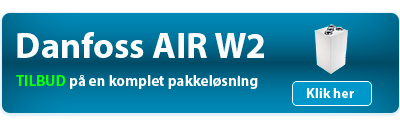 Danfoss Air W2 pakkeløsning
