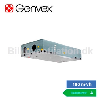 Genvex ECO 190 CL inklusiv styring og display