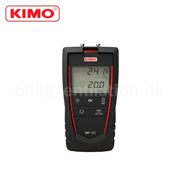 Kimo manometer MP 120 1KPA-40M/S