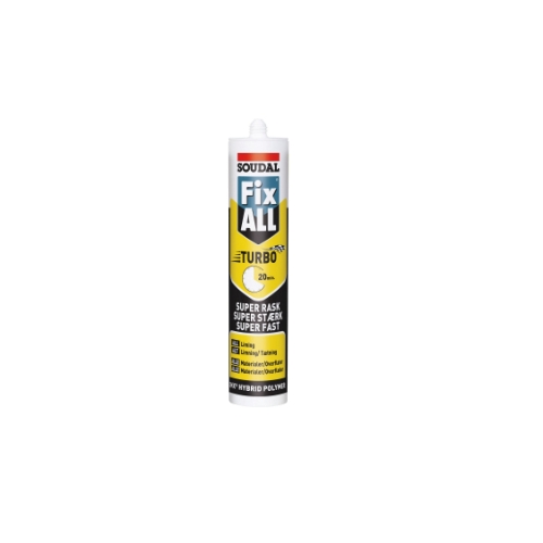 Montagelim FIX ALL Turbo hvid | 290 ml
