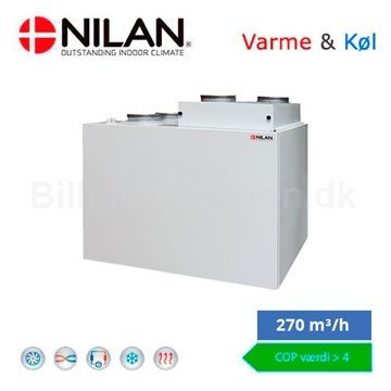 Nilan Combi 302 Polar Top ventilationsanlæg