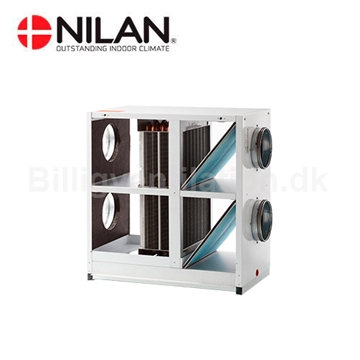 Nilan Filter Unit med Heatpibe til VPL15