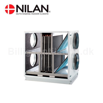 Nilan Filter Unit med Heatpibe til VPL28