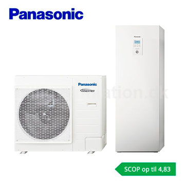 Panasonic Aquarea All in one 9 kW H-Generation luft/vand varmepumpe