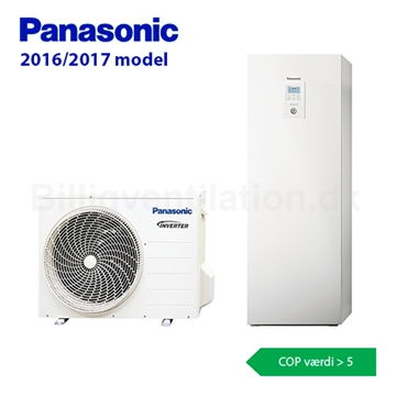 Panasonic Aquarea All in one H-Generation luft/vand varmepumpe
