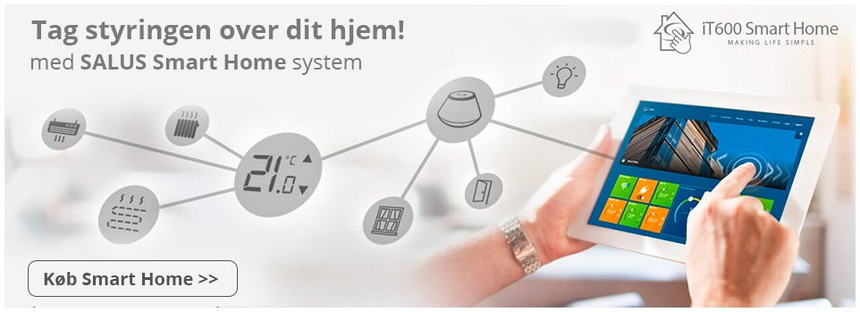 SALUS Smart Home varmestyring